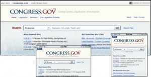 Congress.gov website